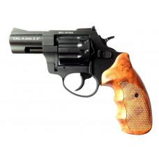 Револьвер под патрон флобера Stalker 2,5 Силумин (черный/кор.ручка)