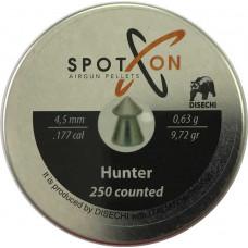 Пули Spoton Hunter 0,63 (250 шт.) 4.5 мм